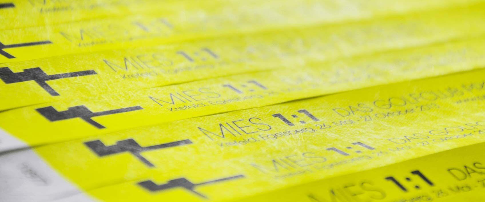 Etikettendruck und Labeldruck Druckerei in Krefeld